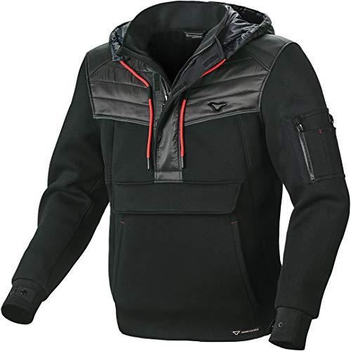 Macna Aron Motorrad Textiljacke Schwarz XL