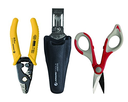 Jonard Tools TK-350 Fiber Stripper & Kevlar Cutting Kit