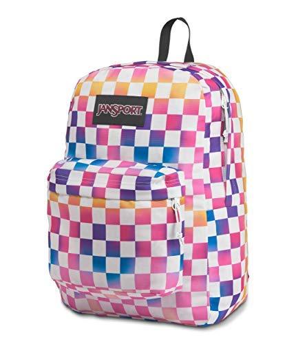 JanSport SuperBreak Plus Laptop Backpack - Lightweight School Pack, Check It