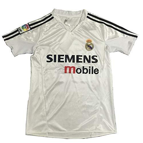 MFFZHJ 2005/06 Spieler Trikots Für Zidane 5 Ronaldo 9 Raúl 7 Fußballtrikot, Schnell Trocknende Anzug T-Shirt #9-M
