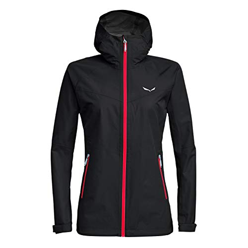 Salewa 00-0000024546_913 Jacket Femme, Black Out/6080, FR : M (Taille Fabricant : 44/38)