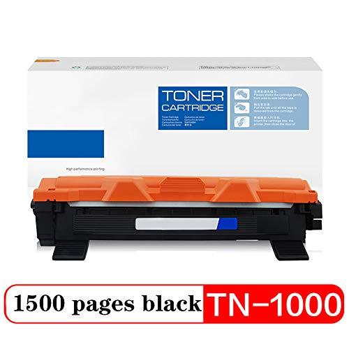 Compatibel Toner Cartridge Vervanging voor TN-1000, voor Brother Printer HL-1110 1210W DCP-1510 1610W MFC-1810 1815 1910W 1915W Cartridge high-Volume kantoorbenodigdheden Print 1500 pagina's size Powderbox