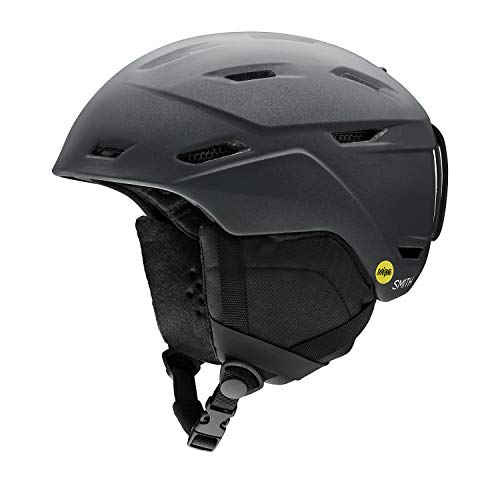 Smith Optics Mirage-MIPS Women's Ski Snowmobile Helmet - Matte Black Pearl/Medium