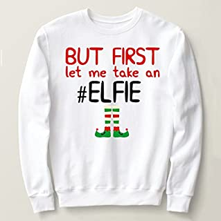 Ugly Christmas sweater, ugly Christmas party sweatshirt, #Elf sweater