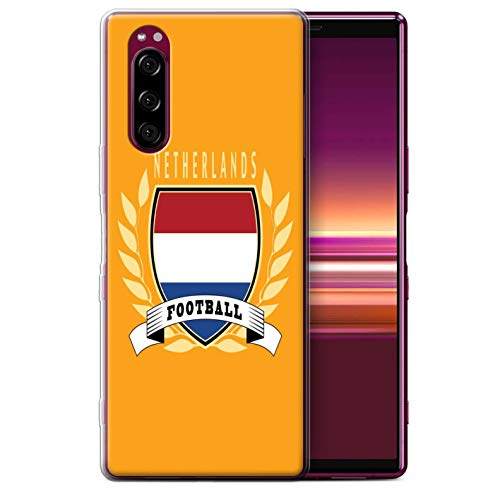 eSwish Telefoon Case/Cover/Skin/SXP-GC/Voetbal Embleem Collectie Sony Xperia 5 (2019) Netherlands/Dutch