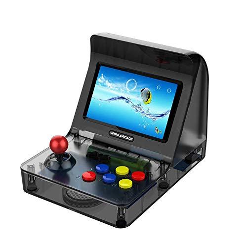 COOLBABY RS-07 4,3 pouces écran couleur haute définition Mini pour ordinateur de poche Arcade console de jeux double Nostalgique pour enfants Retro(white)