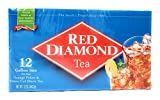 Red Diamond All Natural Iced Tea Bags Gallon Size, 12 Count (1)