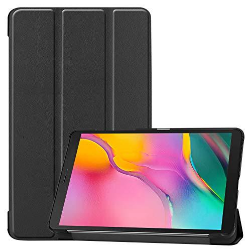 ProCase Galaxy Tab A 8.0 Cover 2019, Sottile Stand Custodie Rigide Copertura Intelligente con Auto Svegliati Sonno per8.0 inch Galaxy Tab A 2019 Tablet Model SM-T290 (Wi-Fi) SM-T295 (LTE) –Nero