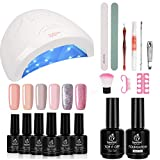 Best Gel Polish Kits - Beetles Gel Nail Polish Starter Kit with 48W Review