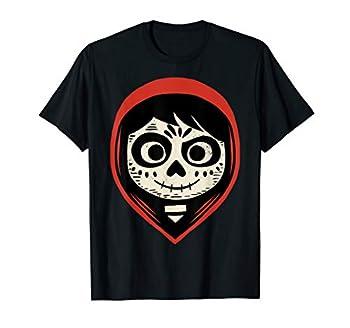 Disney Pixar Coco Miguel Sugar Skull Portrait T-Shirt