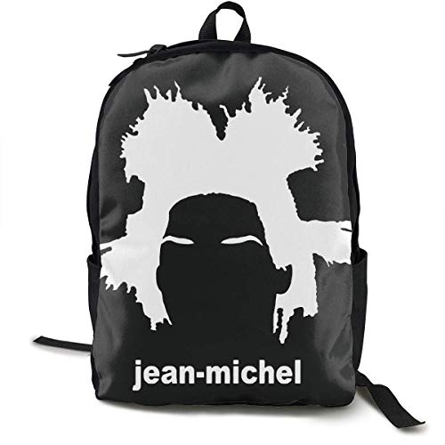 Shichangwei Jean Michel Basquiat Backpack Campus School Bag Casual Backpack Gym Travel Hiking Canvas Backpack