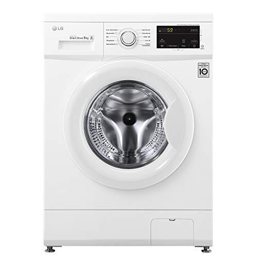 LG Waschmaschine F14WM8MC0 A+++ sparsam | 1400 U/min | 8 kg Fassungsvermögen | 10 Programme