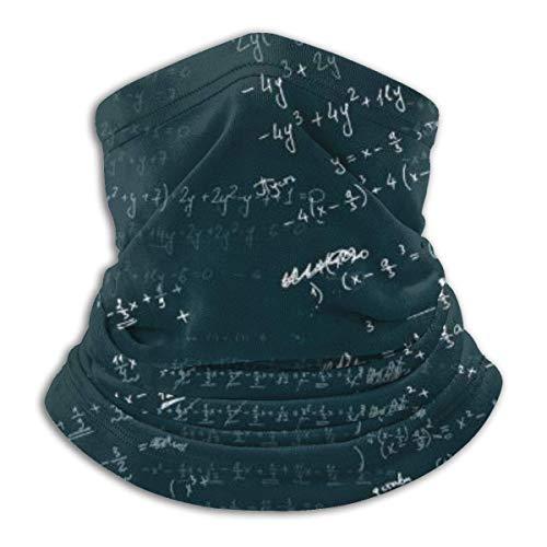 Jwohek Polaina de cuello al aire libre Bosquejo de álgebra UNISEX HOMBRE...