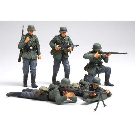 タミヤ 1/35 ミリタリーミニチュアシリーズ No.293 ドイツ陸軍 歩兵セット フランス戦線 プラモデル 35293
