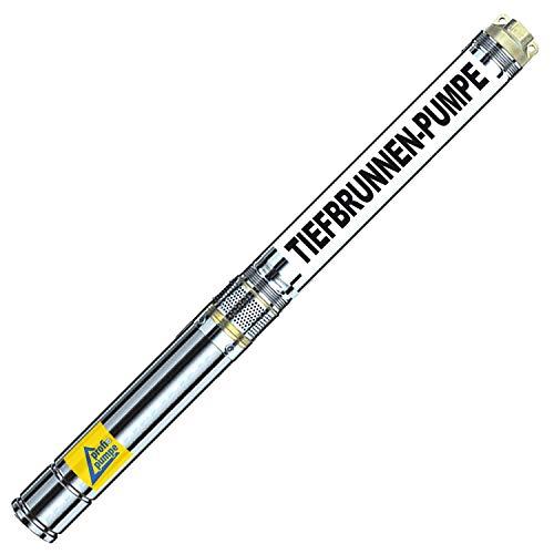 AMUR Sonderangebot! 250Watt-2,5Zoll - TAUCHPUMPE BRUNNENPUMPE Brunnen-Star-250-5 - Die SCHLANKE TIEFBRUNNENPUMPE mit hoher Leistung!
