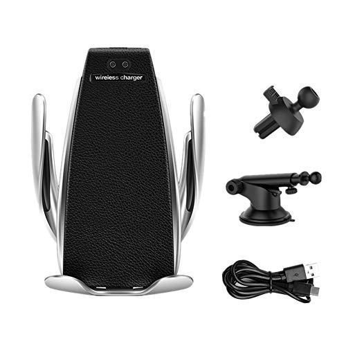 Happyit Intelligente infraroodsensor draadloze oplader autotelefoonhouder Qi Auto Air Vent + zuignap mobiele telefoon standaard voor 4,0