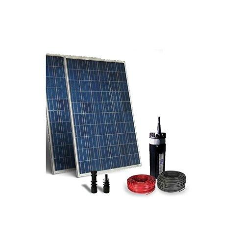 PuntoEnergia Italia - Kit solaire photovoltauque pour le pompage de l'eau 150W 24V - 300 l/h - KPO-150