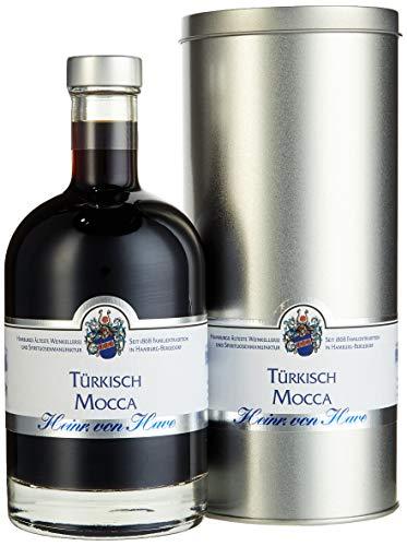 von Have Türkisch Mocca Kaffee-Likör mit Jamaica-Rum in Geschenk-Dose (1 x 0.5 l)