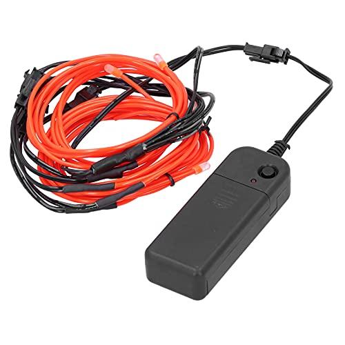 Tira de luz de neón LED, cable de neón flexible luminoso práctico...