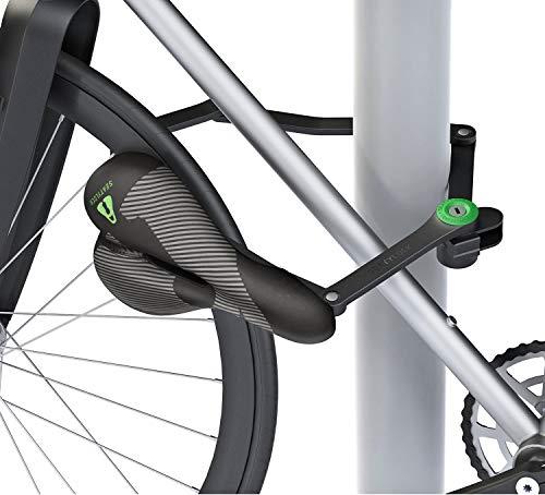 Seatylock Trekking - Candado para bicicleta (antirrobo, resistente a los taladros), color...