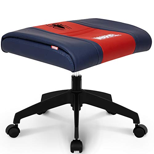 NEO CHAIR Licensed Marvel Multi-Use Stool : Video Game Stool Gaming Chair Stool Footstool Simple Chair Footrest Meeting Chair Swivel Height Adjustable (Spider Man Red)
