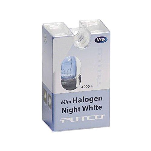 Putco 211194L Mini-Halogen Bulb - Night White - 194 (Pair)