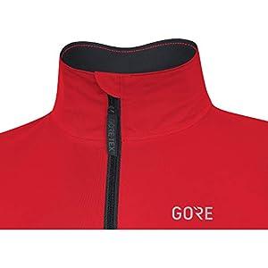 GORE WEAR C5 Chaqueta de ciclismo de hombre GORE-TEX, M, rojo/negro