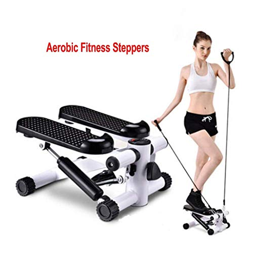 ZLXLX Indoor Sportuitrusting Stepper, Fitness Pedaal Fitness Thuis Aerobic Fitness Steppers Voetstappen Uitgerust met Rustige Loopband Thuis Mini Afvallen Multi-Functionele Pedaal Fitness Apparatuur S