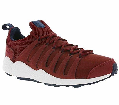 Nike Men's Air Zoom Spirimic Team Red / - White Low Top Basketball Shoe 10.5M