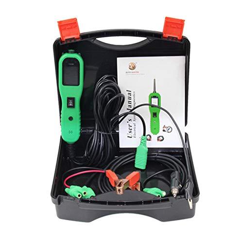 Yusell Stromkreistester für Diagnose des elektrischen Systems Stromsonde Auto-Scan-Tool mit Schalter