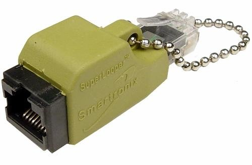 Cables Unlimited TST-LOOP-003 Smartronix Superlooper T1/E1 Loopback Tester (Yellow)