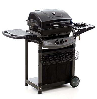 Foto di Sochef Piùsaporillo Barbecue, Sistema di Cottura a Pietra Lavica, Nero, 52x122x103 cm