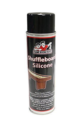 Game Room Guys Silicone Shuffleboard Table Spray