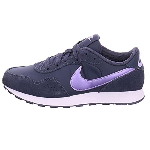 Nike MD Valiant Sneaker, Thunder Blue/Purple Pulse-White, 36.5 EU