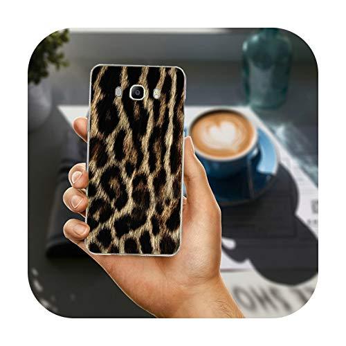 Phonecase - Carcasa para Samsung Galaxy A3, A5, A7, A8, J1, J3, J4, J5, J6, J7, J8, 2015, 2016, 2017, 2018, diseño de tigre y leopardo, diseño de pantera