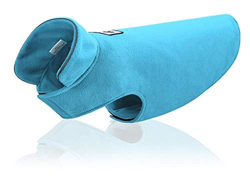 Morezi - Chaleco de Forro Polar de poliéster Suave para Perro, Chaleco elástico para el Pecho y la Cintura, Abrigo de Invierno cálido, Abrigo Reversible para Perros pequeños, medianos y Grandes