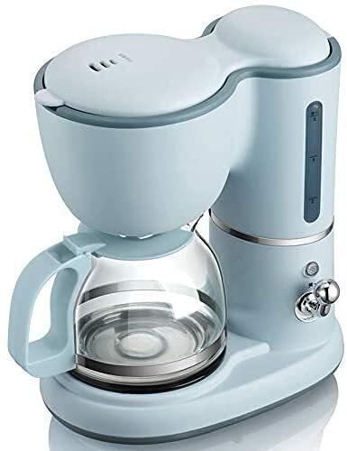 FAGavin Máquina De Café, Máquina De Llenado De Goteo, Mini Mini Cafetera Caliente, Cafetería Mini Mini Cafetería, Tipo Mini Mini Pot, Té Perfumado (Azul)