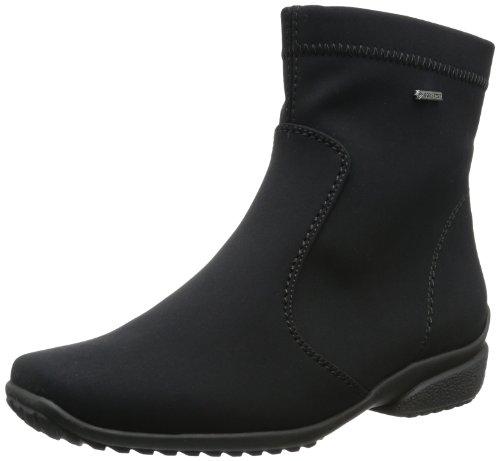ara Portofino-St-Gor-Tex, Botas de Nieve para Mujer, Negro-Schwarz (Schwarz 01), 38 EU