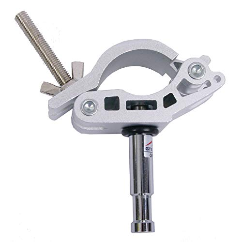 Sunset Foto Adjustable Coupler with 5/8' Stud Rail Pipe Grid Mount Photo Studio Photography