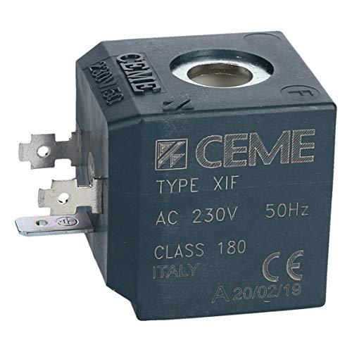 Tefal CS00098530 ORIGINAL Magnetventil Elektroventil Ventil Solenoidventil Spule CEME Type XIF Dampfbügelstation Dampfbügler Dampfgenerator