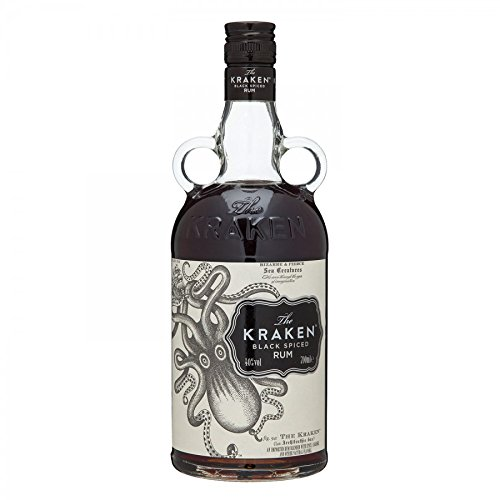 Kraken Black Spiced Rum Liquor, 750 ml, 94 Proof