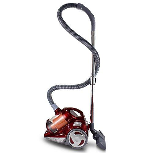 Moneual MV400 Aspiradora sin bolsa, 700 W, 2051 Cubic_Feet, 75 Decibelios, Rojo