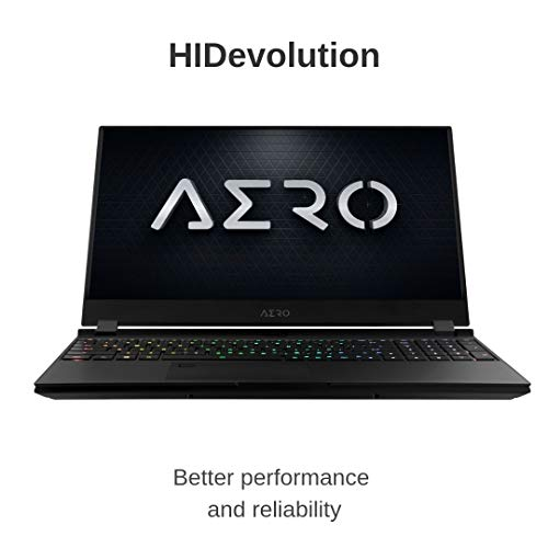 Compare HIDevolution Gigabyte AERO 15 SA-7US2130SH (A15-SA-7US2130SH-HID3) vs other laptops