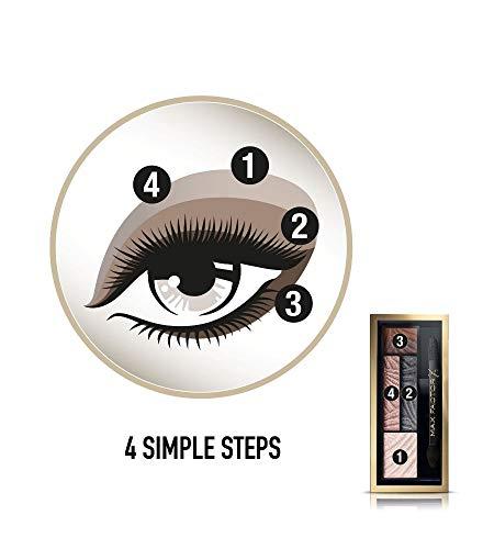 مجموعة ماكياج دراما لمظهر عيون دخانية من ماكس فاكتور، لون لافيش اونيكس رقم 02