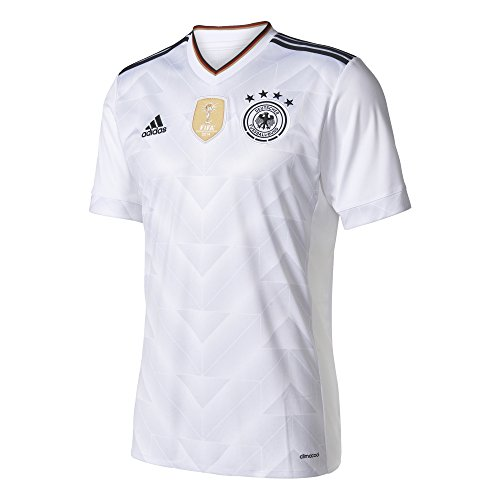 adidas Trikot DFB 2017 Home Confed Cup (White/Black, 164)