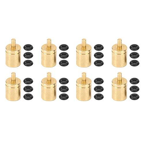 Nikou Herdventil-8Pcs Miniaturventil Außenofen Adapter Anschluss Herd Gastank Zubehör