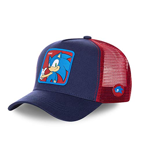 Collabs Gorra The Hedgehog Sonic Azul Talla Unica