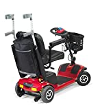 Aids 4 Mobility Black & Grey Large Scooter or Wheelchair Storage Backpack Bag Mobility Padded Rear Ideal for Holding Walking Stick, Crutches and Other Mobility Equipment