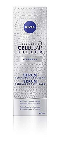 NIVEA Hyaluron Cellular Filler Serum Facial Renovador Antiedad, Reafirmante, Antiarrugas para Activar la Regeneración Celular - 1 x 40 ml