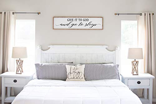 Aet3thew Wood Framed Sign 6x20